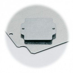 EURONORD ALUMINIO Placa de montaje metálica