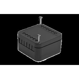 Caja de terminales color negro